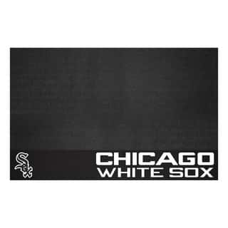 Fanmats Chicago White Sox Black Vinyl Grill Mat|https://ak1.ostkcdn.com/images/products/10700108/P17761036.jpg?impolicy=medium