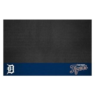 Fanmats Detroit Tigers Black Vinyl Grill Mat