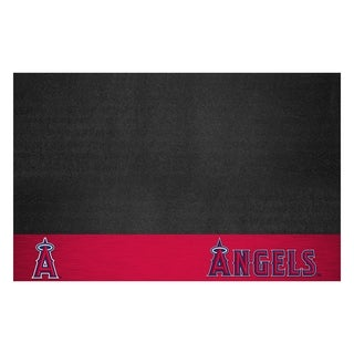 Fanmats Los Angeles Angels Black Vinyl Grill Mat