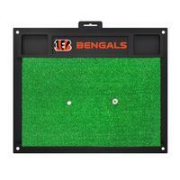 Fanmats Cincinnati Bengals Green Rubber Golf Hitting Mat