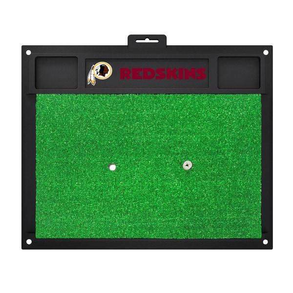 Fanmats Washington Redskins Green Rubber Golf Hitting Mat
