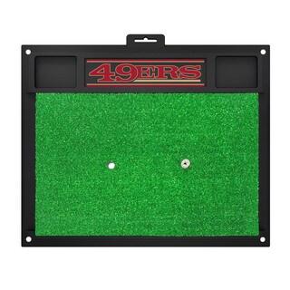 Fanmats San Francisco 49ers Green Rubber Golf Hitting Mat
