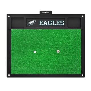 Fanmats Philadelphia Eagles Green Rubber Golf Hitting Mat