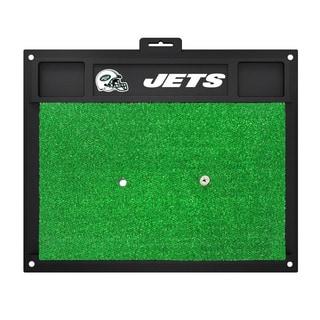 Fanmats New York Jets Green Rubber Golf Hitting Mat