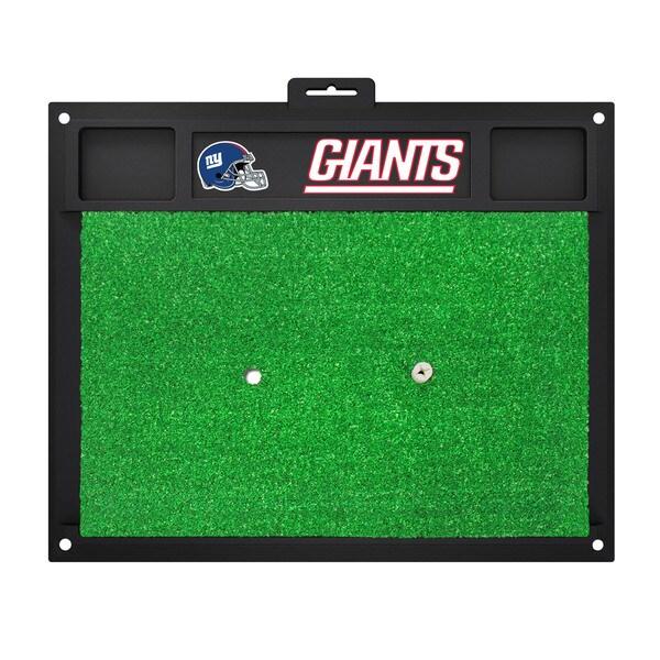 Fanmats New York Giants Green Rubber Golf Hitting Mat