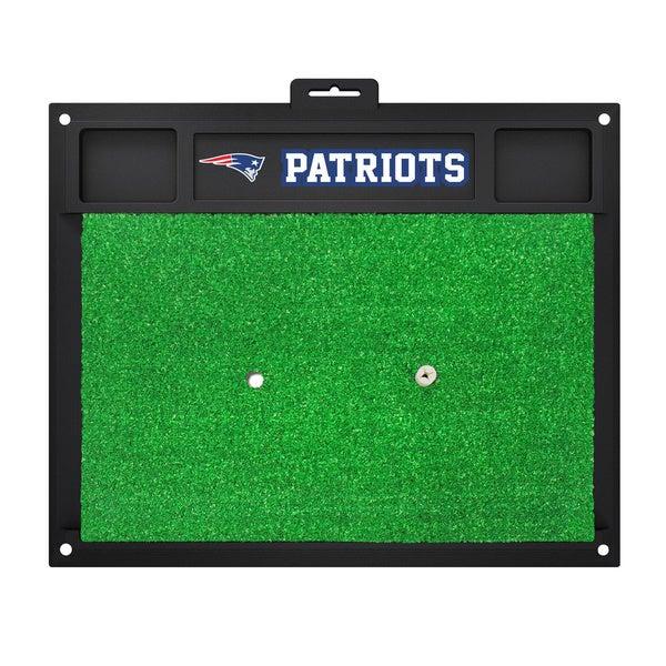 Fanmats New England Patriots Green Rubber Golf Hitting Mat