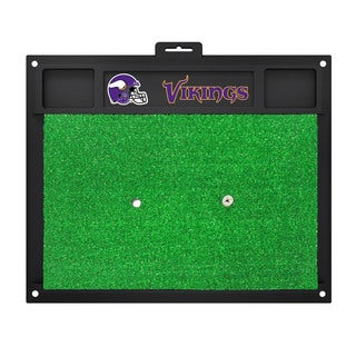 Fanmats Minnesota Vikings Green Rubber Golf Hitting Mat