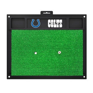Fanmats Indianapolis Colts Green Rubber Golf Hitting Mat