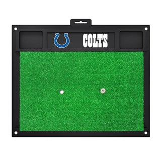 Fanmats Indianapolis Colts Green Rubber Golf Hitting Mat|https://ak1.ostkcdn.com/images/products/10700156/P17761134.jpg?impolicy=medium
