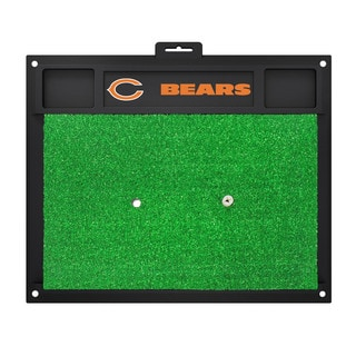 Fanmats Chicago Bears Green Rubber Golf Hitting Mat