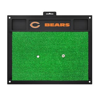 Fanmats Chicago Bears Green Rubber Golf Hitting Mat|https://ak1.ostkcdn.com/images/products/10700162/P17761139.jpg?impolicy=medium