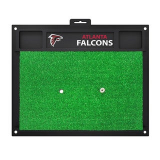 Fanmats Atlanta Falcons Green Rubber Golf Hitting Mat