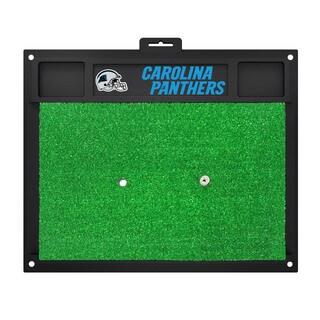 Fanmats Carolina Panthers Green Rubber Golf Hitting Mat