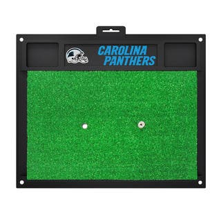 Fanmats Carolina Panthers Green Rubber Golf Hitting Mat|https://ak1.ostkcdn.com/images/products/10700164/P17761143.jpg?impolicy=medium