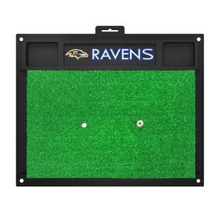 Fanmats Baltimore Ravens Green Rubber Golf Hitting Mat
