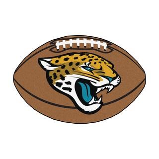 Fanmats Jacksonville Jaguars Nylon Football Rug (1'8 x 2'9)