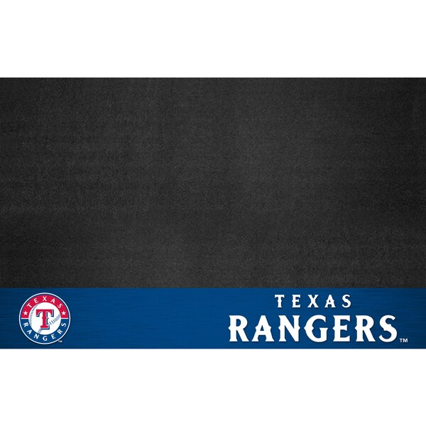Fanmats Texas Rangers Black Vinyl Grill Mat