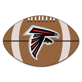 Fanmats Atlanta Falcons Nylon Football Rug (1'8 x 2'9)