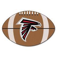 Fanmats Atlanta Falcons Nylon Football Rug (1'8 x 2'9)