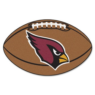 Fanmats Arizona Cardinals Nylon Football Rug (1'8 x 2'9)
