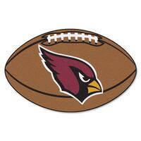 Fanmats Arizona Cardinals Nylon Football Rug (1'8 x 2'9)