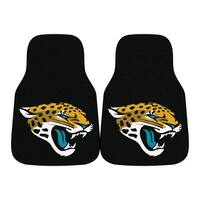 Fanmats Jacksonville Jaguars Black Nylon Carpet Car Mat Set
