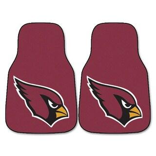 Fanmats Arizona Cardinals Burgundy Nylon Carpet Car Mat Set