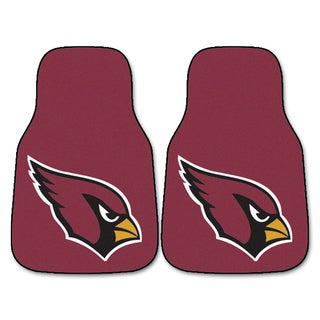 Fanmats Arizona Cardinals Burgundy Nylon Carpet Car Mat Set
