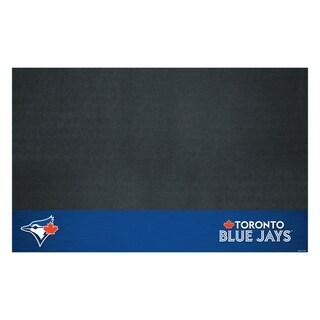 Fanmats Toronto Blue Jays Black Vinyl Grill Mat