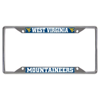 Fanmats Chrome Metal License Plate Frame
