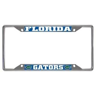 Fanmats Florida Gators Chrome Metal License Plate Frame