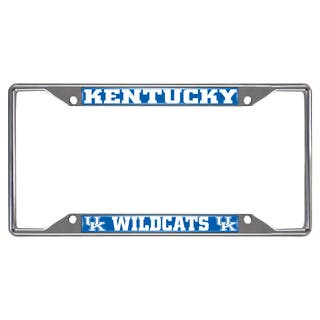 Fanmats Kentucky Wildcats Chrome Metal License Plate Frame|https://ak1.ostkcdn.com/images/products/10700197/P17761087.jpg?impolicy=medium