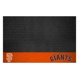 Fanmats San Francisco Giants Black Vinyl Grill Mat