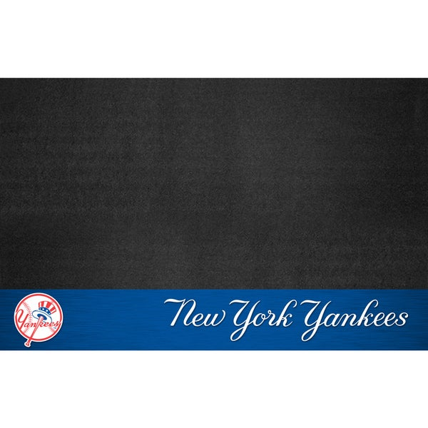 Fanmats New York Yankees Black Vinyl Grill Mat