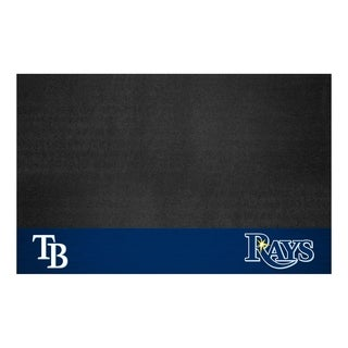 Fanmats Tampa Bay Rays Black Vinyl Grill Mat