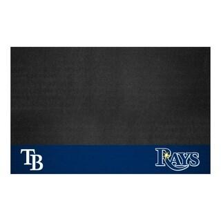 Fanmats Tampa Bay Rays Black Vinyl Grill Mat