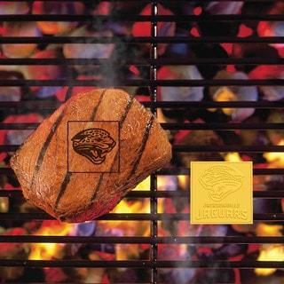 Fanmats Jacksonville Jaguars Silver Fan Metal Brand