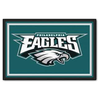 Fanmats Philadelphia Eagles Teal Nylon Area Rug (5' x 8')|https://ak1.ostkcdn.com/images/products/10700241/P17761102.jpg?impolicy=medium