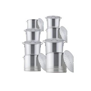 16-piece Aluminum Steamer Pot Set