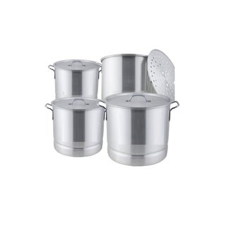 8-piece Aluminum Steamer Pot Set