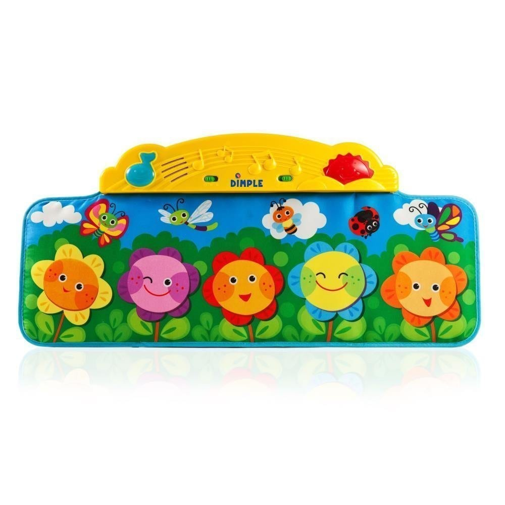 Flower Garden Kick and Touch Musical Baby Piano Mat with ...