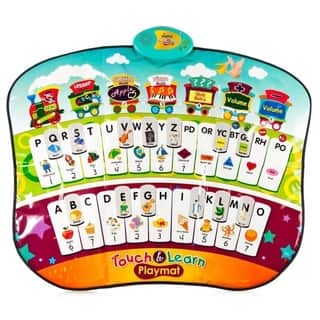 Educational Piano Play Mat 4 Games and Activities with Alphabet, Words, Shapes, Spelling, Colors, and Music by Dimple|https://ak1.ostkcdn.com/images/products/10700395/P17761191.jpg?impolicy=medium