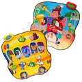 Dimple Animal Bus and Musician Double Sided Play Mat DC11959
