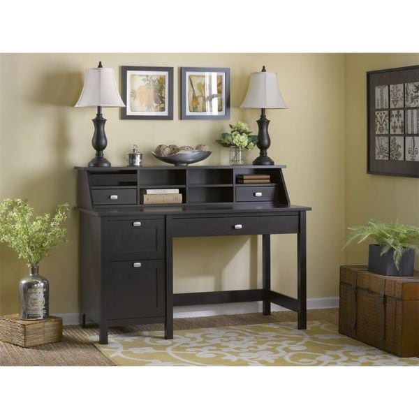 Bush Furniture Broadview Single Pedestal Desk And