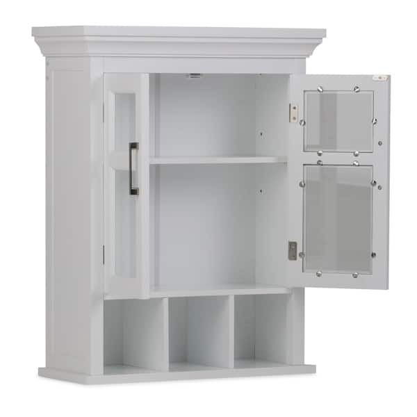 . Shop WYNDENHALL Hayes 30 inch H x 23 6 inch W Two Door Wall Bath
