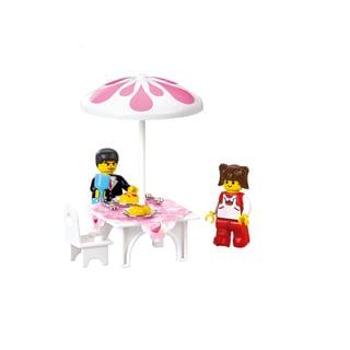 Sluban Interlocking Bricks Romantic Restaurant M38-B0150