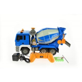 E518-003 1:20 Scale RC Cement Mixer Truck with Lights and Sound
