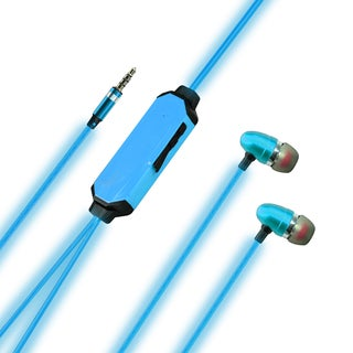 Light-up Blue Ear Bud Headphones