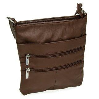 Women's Continental Leather Slim Crossbody Shoulder Bag