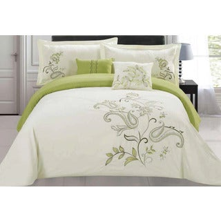 Jordana Embroidered 5-piece Comforter Set
